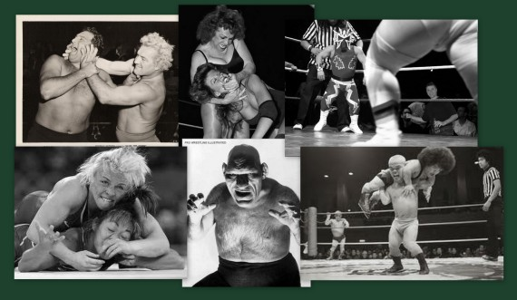 Wrestling Collage
